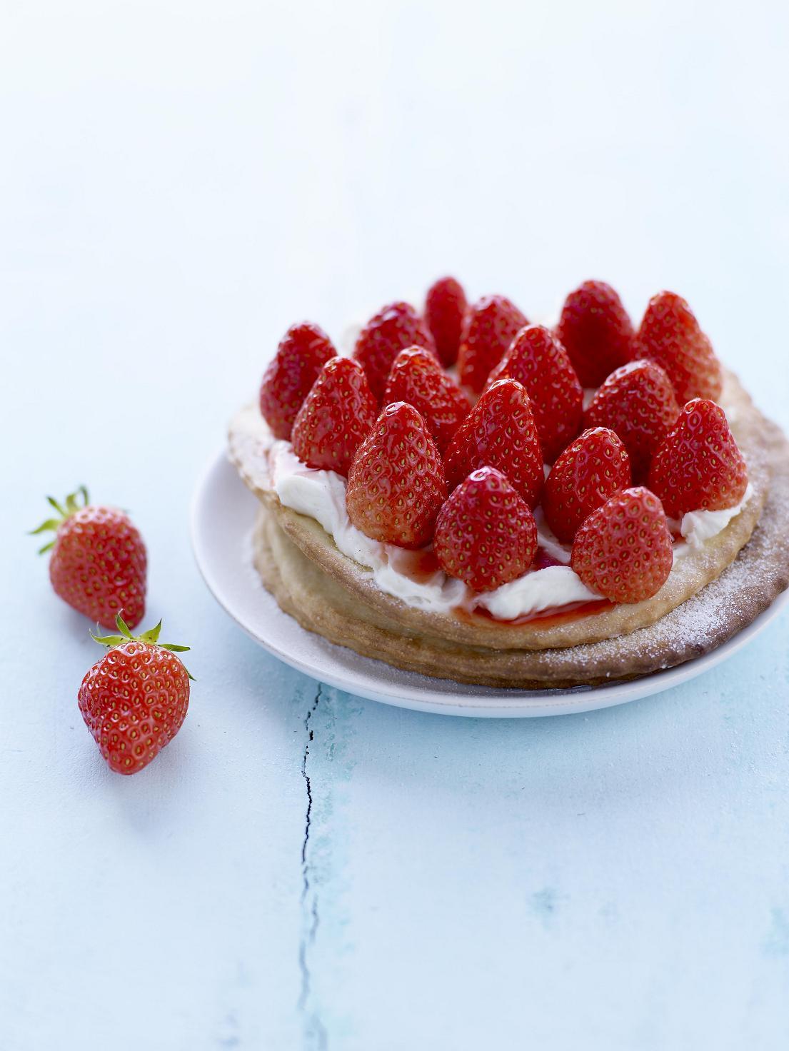 tartelettes fines aux fraises bd – bienfaits pour nous !